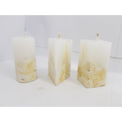 Candles Decorative candles Concrete candles Handmade candles Exclusive candles Set of candles