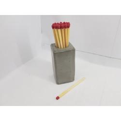 Подставка для спичек Подставка под спички Подставка для спичек ручной работы Подставка для спичек из бетона