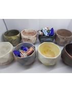 Original handmade candy bowls made of concrete