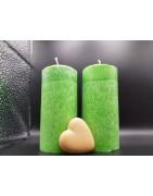 Palm candles set