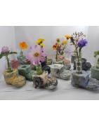 Самый необычные и красивые вазы ручной работы для полевых цветов