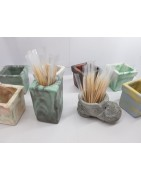 Large selection of toothpick holders for every taste and for any design